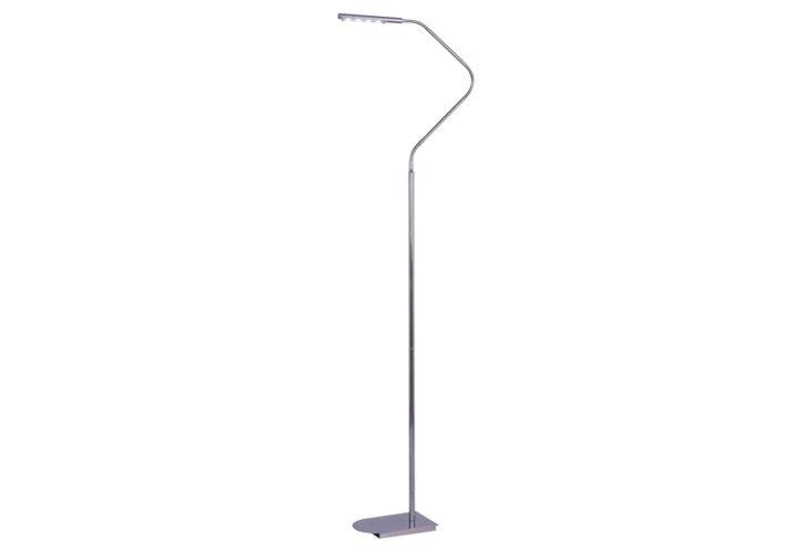 Sussex LED Floor Lamp, Chrome