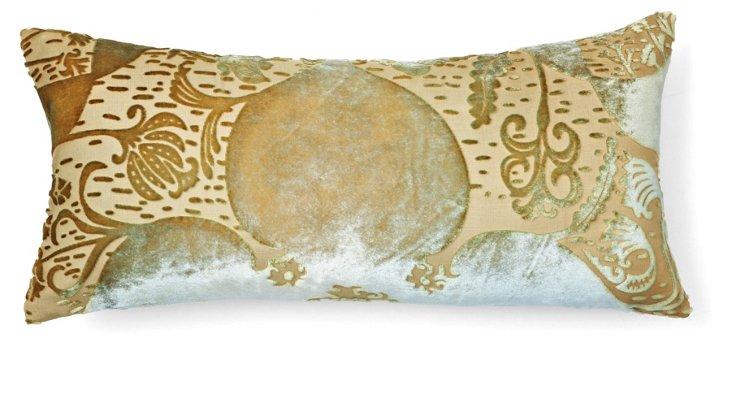 Persian 8x16 Pillow, Celadon