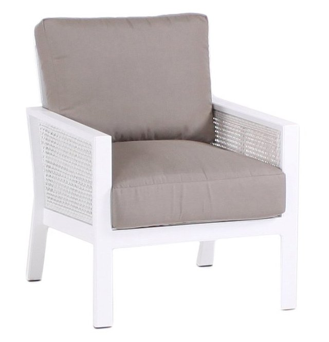 Parkview Woven Club Chair, Taupe