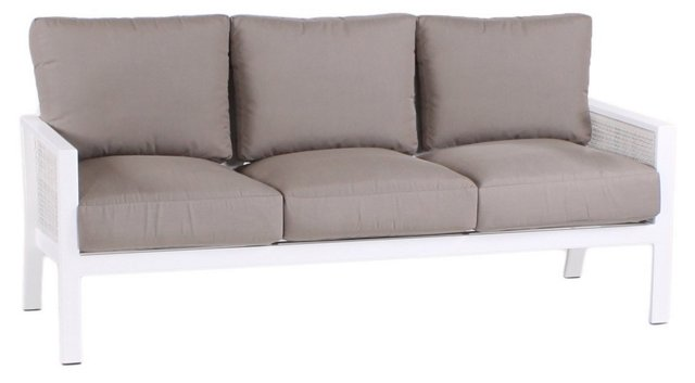 Parkview Woven Sofa, Taupe