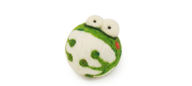 Frog Ornament, Small
