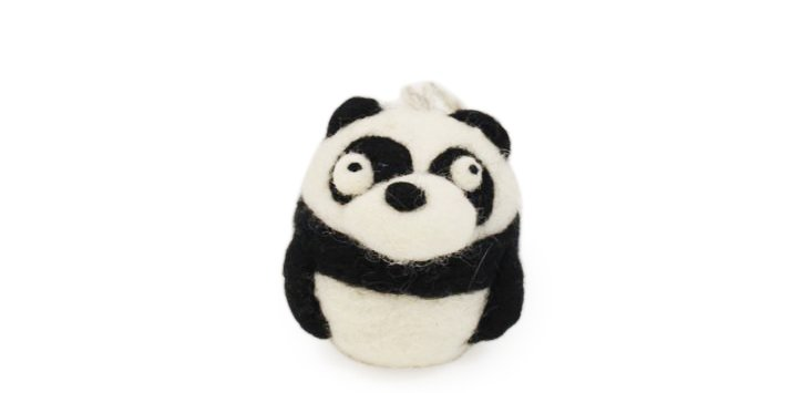 Panda Ornament, Small