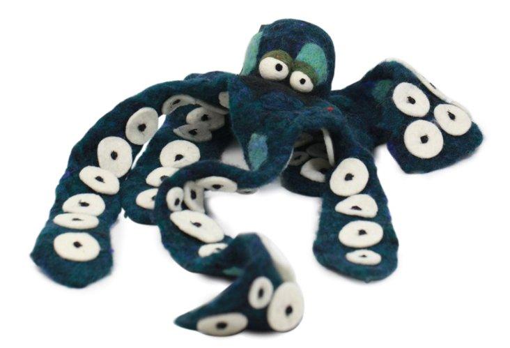 Octopus Ornament, Large