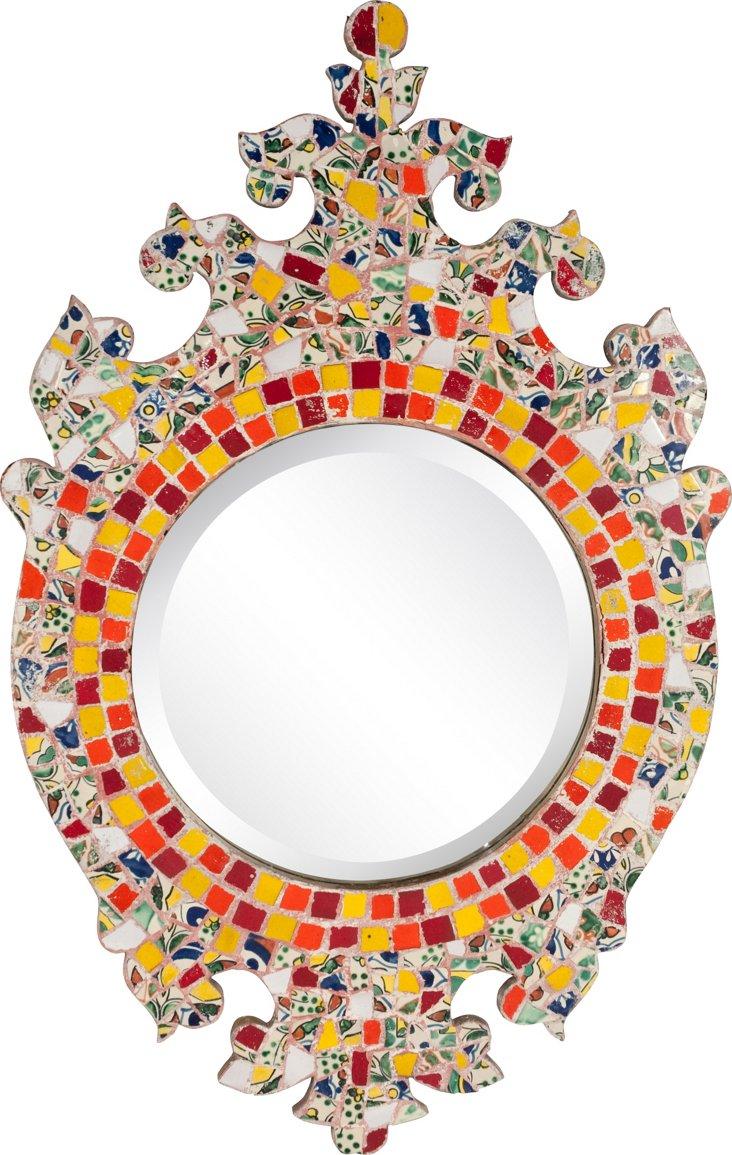 Martin Brown Mosaic Mirror