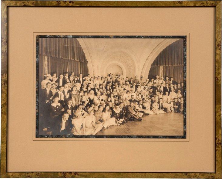 Framed Photograph, Costume Ball