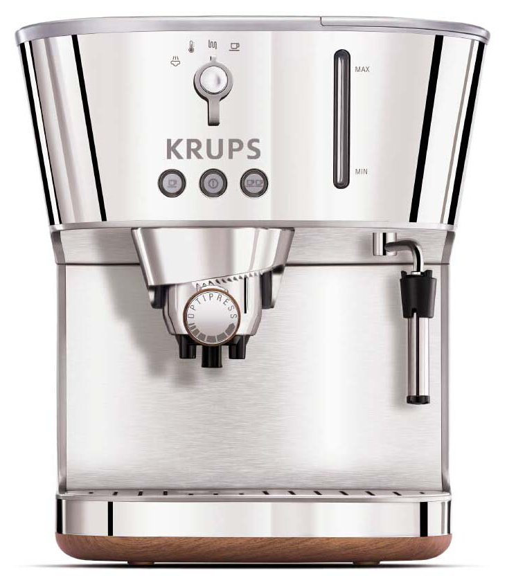 Silver Art Collection Espresso Maker