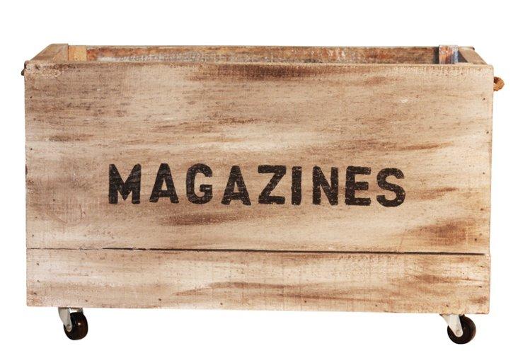 """""""Magazines"""" Crate"""