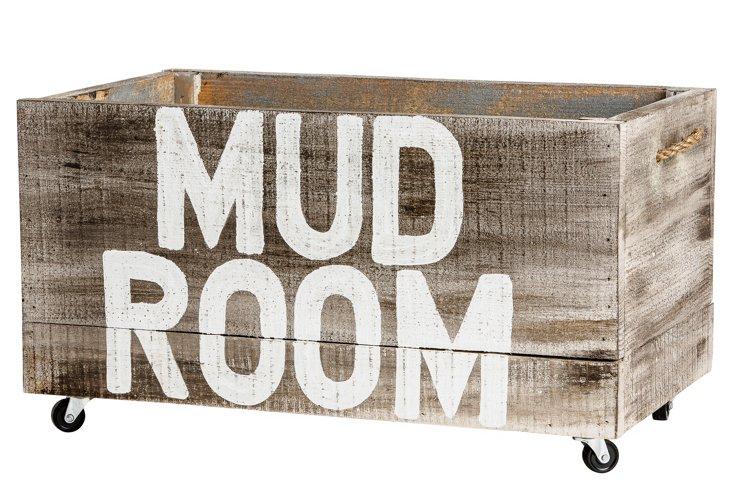 """Mud Room"" Crate, 27"""