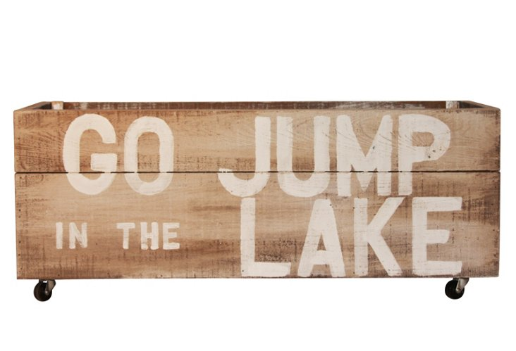 """Go Jump in the Lake"" Crate"