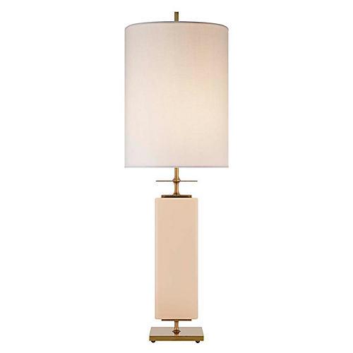 Beekman Table Lamp, Blush