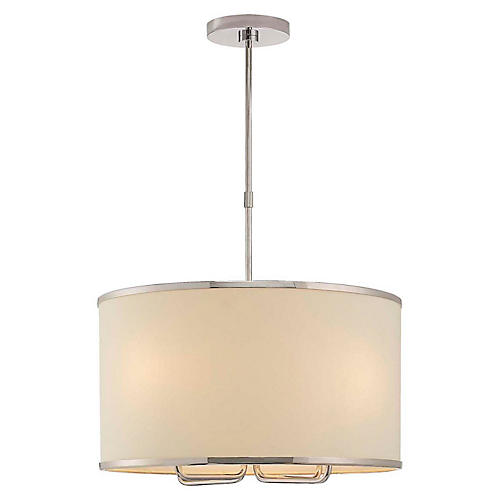 Larabee Hanging Shade, Polished Nickel
