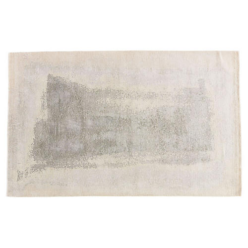 Murray Abstract Rug, Platinum