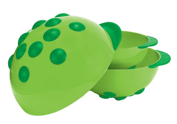 S/3 Turtle Mixing Bowls