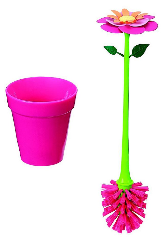 Flower Garden Brush Set, Pink