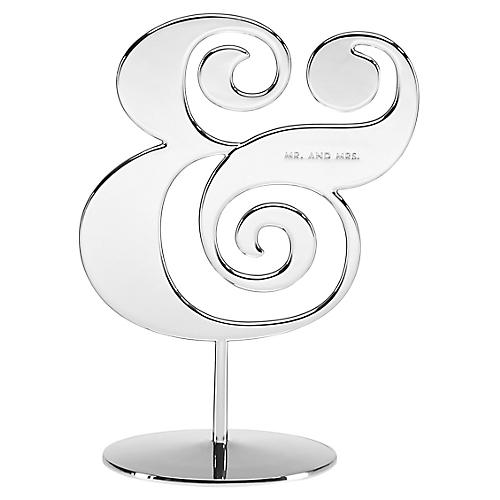 "8"" Darling Point Cake Topper, Silver"