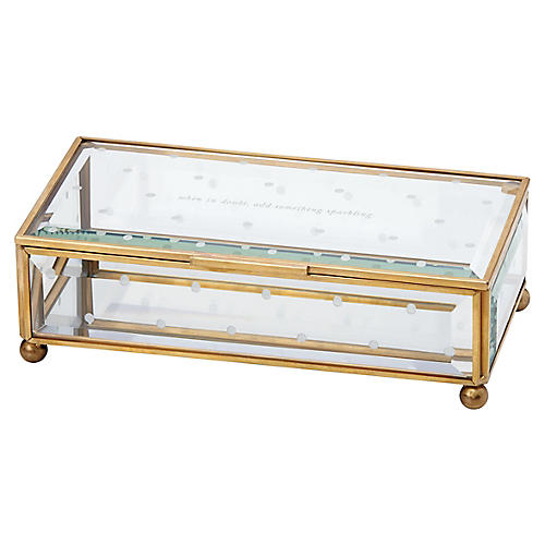 Out of the Box Jewelry Box, Clear