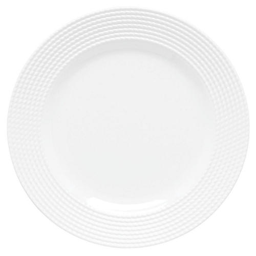 Wickford Dinner Plate, White