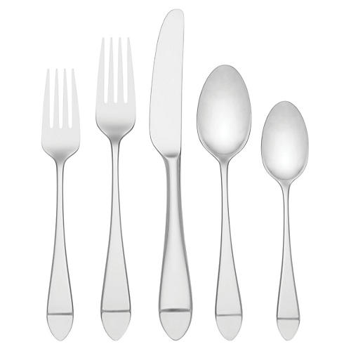 5-Pc Charlotte Street Place Setting, Silver