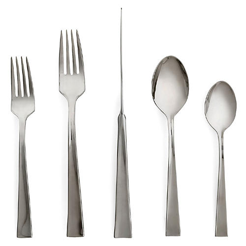 5-Pc Flatiron Place Setting, Silver