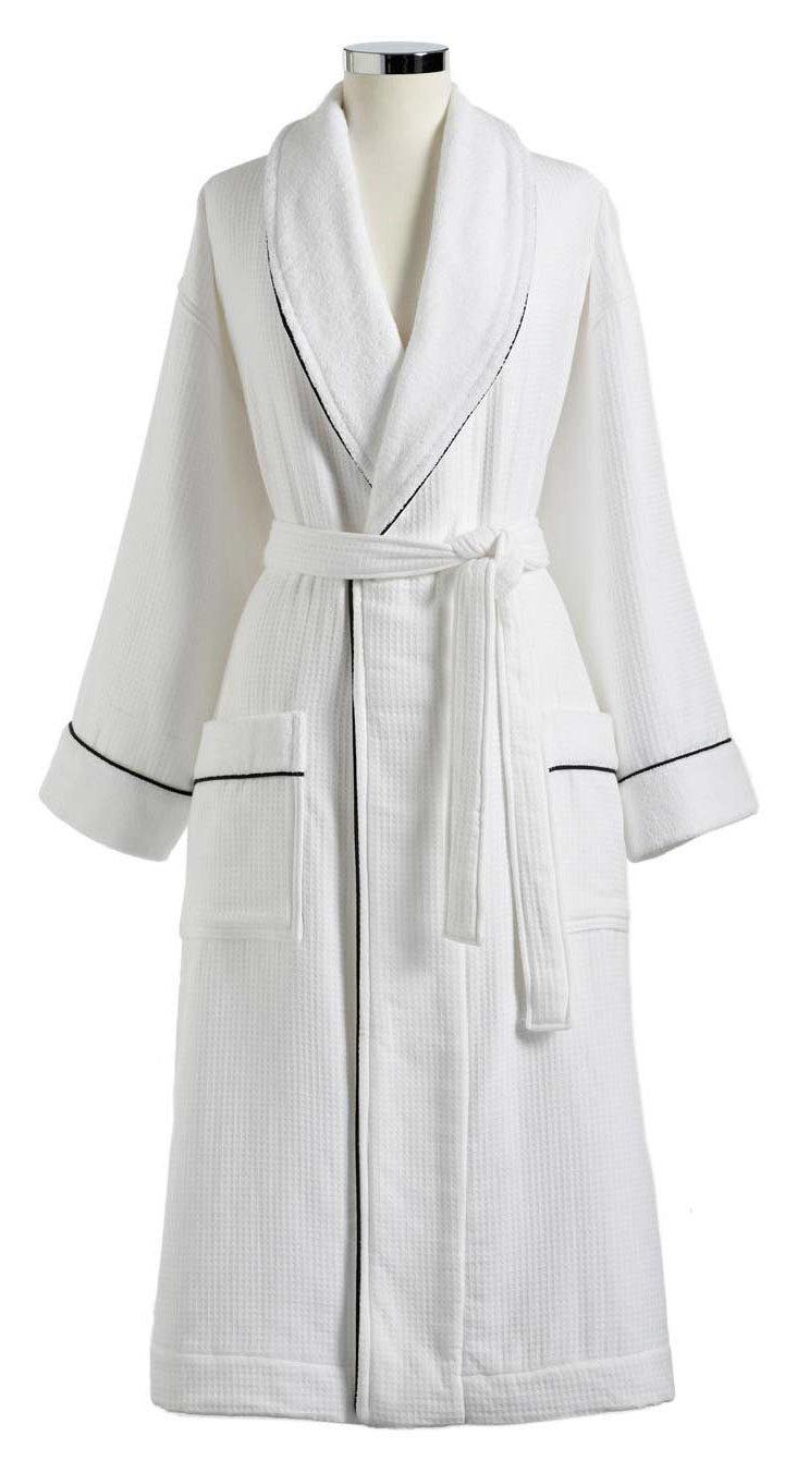 Hotel Collection Bath Robe, White