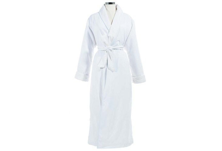 Large/XL Spa Robe, White