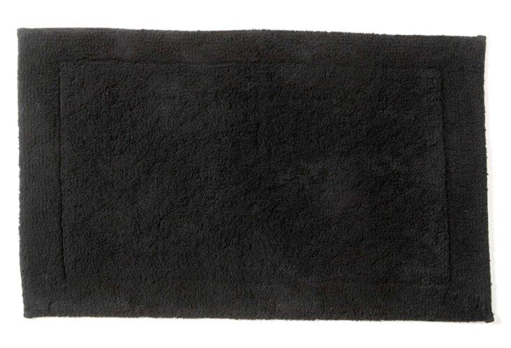 Sublime Bath Rug, Black