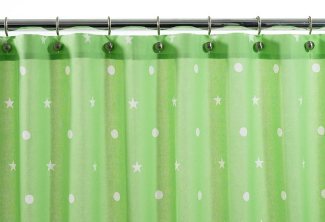 Stars, Lines & Dots Shower Curtain