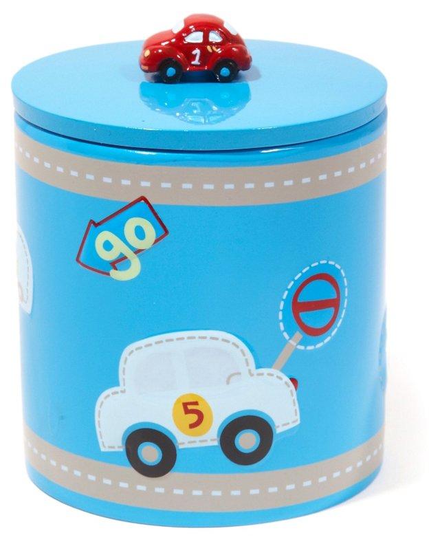 Racetrack Cotton Jar