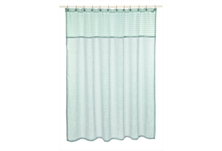 Bedminster Shower Curtain, Surf