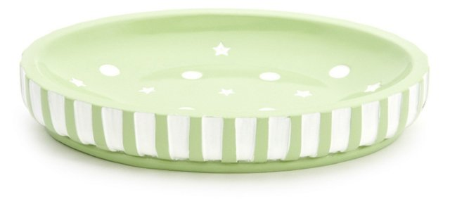 Stars &  Dots Soap Pump, Mint