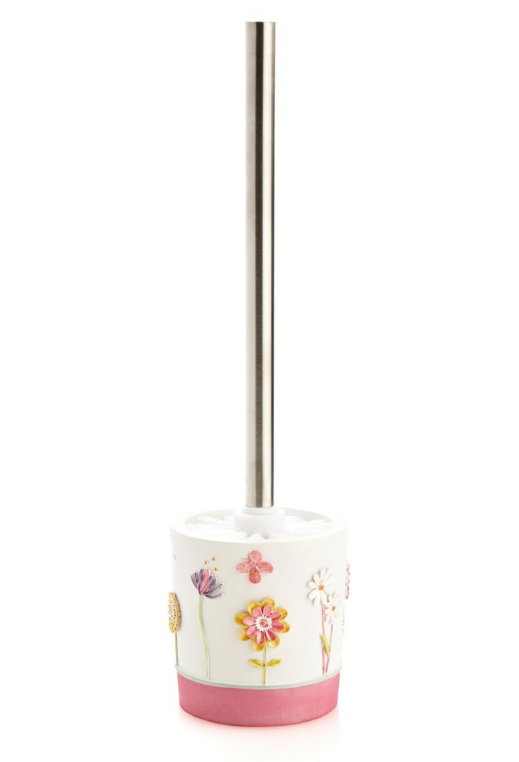 Garden Party  Toilet Brush and Holder