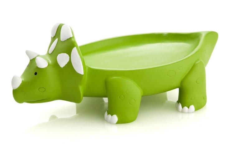 Dino Park Soap Dish, Green
