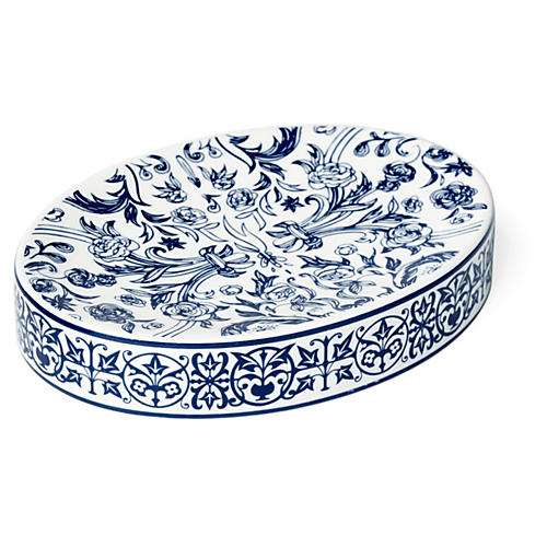 Orsay Soap Dish, Blue