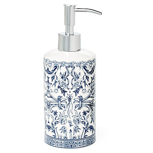 Orsay Lotion Dispenser, Blue