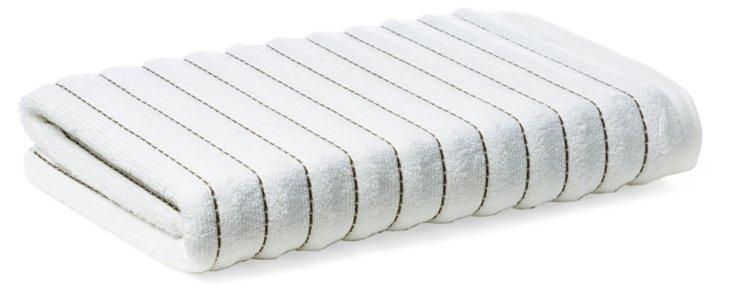 S/2 Mar-A-Lago Bath Towels, Bark
