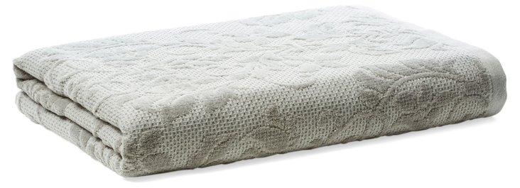 Parisian Bath Towel, Dove Gray