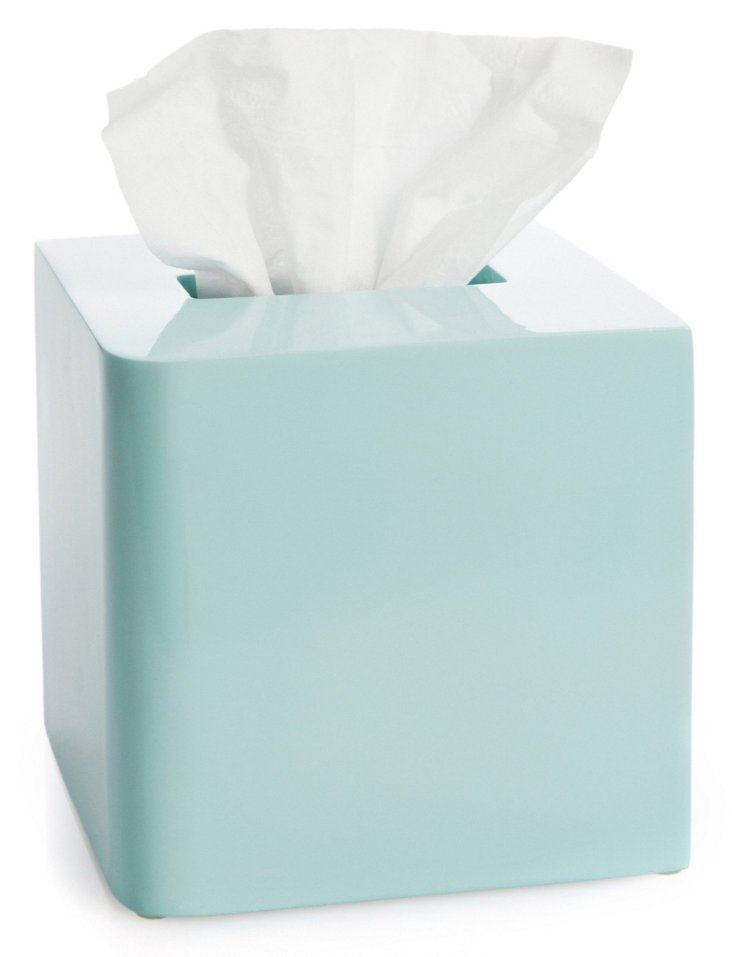 Lacca Tissue Cover, Light Blue