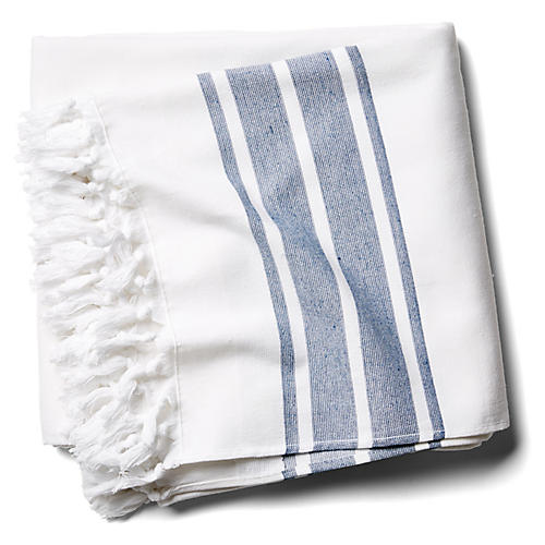 Martinique Beach Blanket, Navy