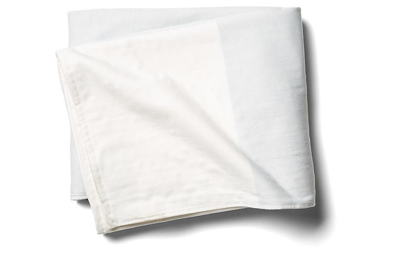 Pareo Block Beach Towel, Sea Glass