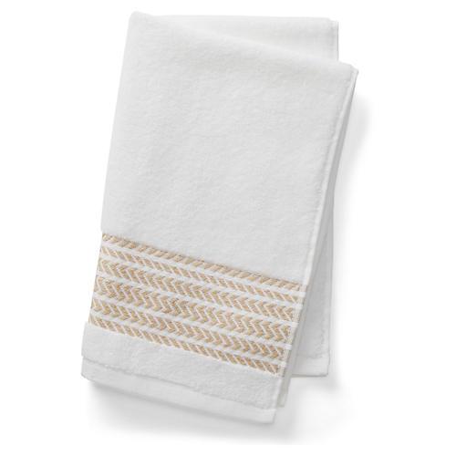 Baja Hand Towel, Beige