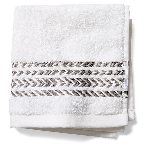Baja Washcloth, Aluminum