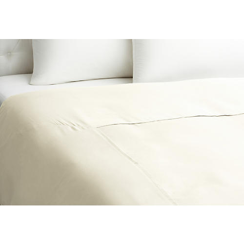 Basic Duvet Cover, Vanilla