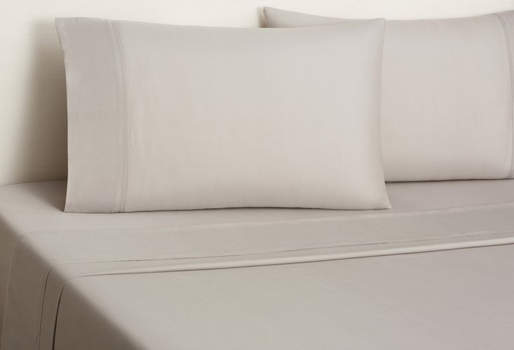 Kumi Basics Sheet Set, Gray