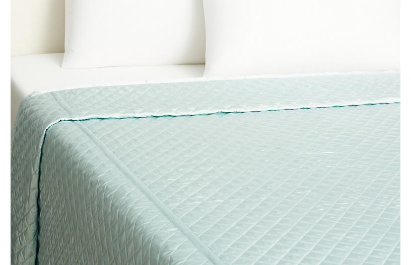 Quilted Coverlet, Snowcone