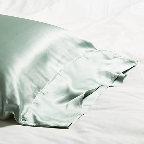 Classic Collection Pillowcase, Seafoam