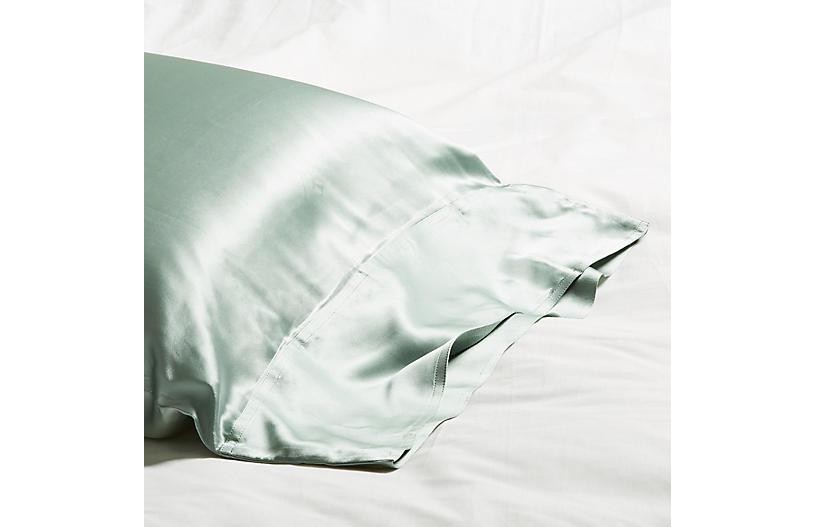 Classic Collection Pillowcase, Seafoam