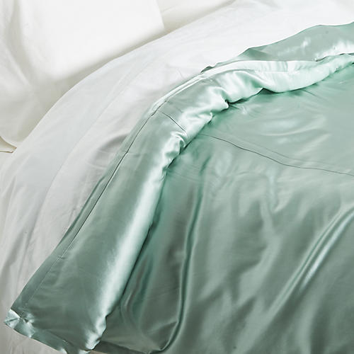 Classic Collection Duvet, Seafoam