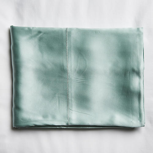 Classic Collection Flat Sheet, Seafoam