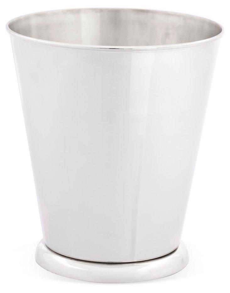 Waste Bin, Silver
