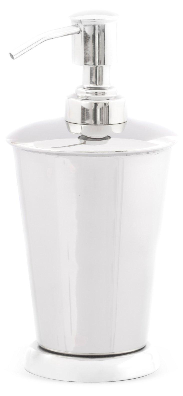 Lotion Dispenser, Silver